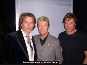 David Bowie (cuenta twitter Duran Duran)