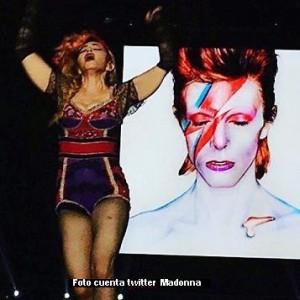 David Bowie (cuenta twitter Madonna)