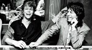 David Bowie (cuenta twitter Mick Jagger)