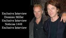 Sting y Dominic Miller (Archivo - Octubre 2001 A001)