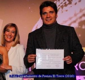 Diplomas Martìn Fierro (Foto Prensa El Trece A002)