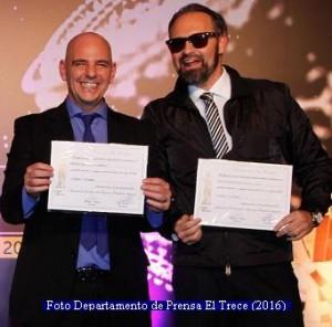 Diplomas Martìn Fierro (Foto Prensa El Trece A004)