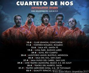 Cuarteto De Nos (Foto 2017 Sony Music Argentina - A005)
