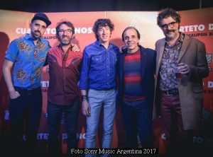 Cuarteto De Nos (Foto 2017 Sony Music Argentina - A011)