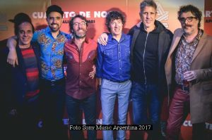 Cuarteto De Nos (Foto 2017 Sony Music Argentina - A015)