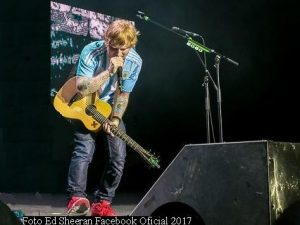 Ed Sheeran (Foto Ed Sheeran Facebook Oficial A008)