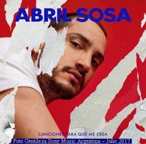 Abril Sosa (Imagen gentileza Sony Music Argentina - Foto Oficial - Julio 2017 A003)