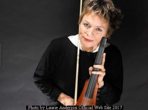 Laurie Anderson (L.Anderson Official Web Site - October 2017 A001)