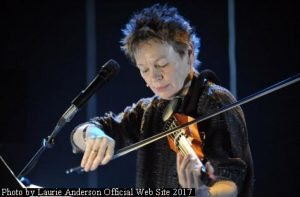 Laurie Anderson (L.Anderson Official Web Site - October 2017 A002)