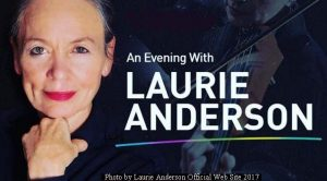 Laurie Anderson (L.Anderson Official Web Site - October 2017 A003)