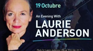 Laurie Anderson (L.Anderson Official Web Site - October 2017 A004)