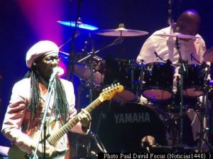 Nile Rodgers (Gran Rex - Miè 13 09 2017 Foto Paul David Focus A002)