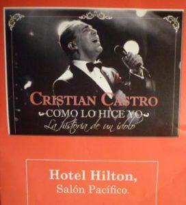 Cristian Castro (Programa de show - 29 Octubre 2017)