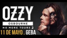 Ozzy Osbourne en Argentina 2018 (Foto Ozzy Osbourne Official Website A000)