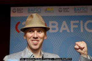 Ewen Bremner (foto gentileza British Council - BAFICI 20 AA002)