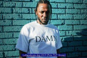 Kendrick Lamar (Lollapalooza Arg 2019 - Foto TyT Group A001)