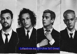 The 1975 (Lollapalooza Arg 2019 - Foto TyT Group A001)