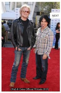 Hall And Oates (H&O Official Website - March 2019 A007)
