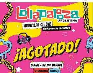 Lollapalooza Argentina (Foto Agencia TyT Group - 29 Marzo 2019)