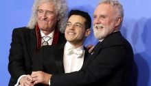Oscars Awards 2019 (Queen and Rami Malek - TV ScreenShot A000)