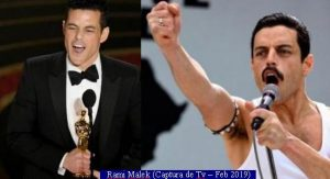 Oscars Awards 2019 (Rami Malek - TV ScreenShot A002)