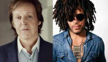 Paul Mc Cartney and Lenny Kravitz (Official Websites PMCC LK - March 2019 A000)