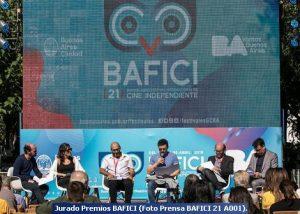 Jurado Premios BAFICI (Foto Prensa BAFICI 21 A001)