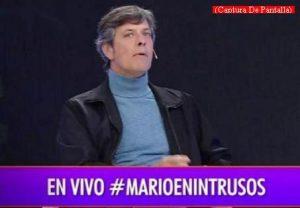 Mario Pergolini (Intrusos - Amèrica Tv - Captura de Pantalla A002)