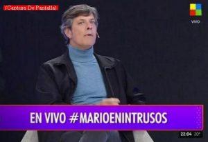 Mario Pergolini (Intrusos - Amèrica Tv - Captura de Pantalla A003)