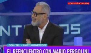 Mario Pergolini (Intrusos - Amèrica Tv - Captura de Pantalla A006)