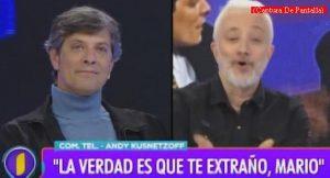 Mario Pergolini (Intrusos - Amèrica Tv - Captura de Pantalla A008)