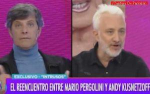 Mario Pergolini (Intrusos - Amèrica Tv - Captura de Pantalla A009)