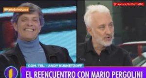 Mario Pergolini (Intrusos - Amèrica Tv - Captura de Pantalla A010)