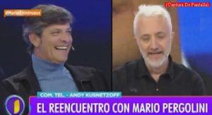 Mario Pergolini (Intrusos - Amèrica Tv - Captura de Pantalla A011)