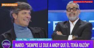 Mario Pergolini (Intrusos - Amèrica Tv - Captura de Pantalla A012)