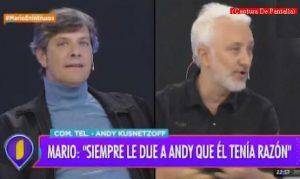 Mario Pergolini (Intrusos - Amèrica Tv - Captura de Pantalla A013)
