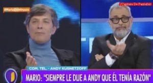 Mario Pergolini (Intrusos - Amèrica Tv - Captura de Pantalla A014)