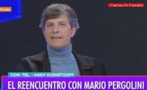 Mario Pergolini (Intrusos - Amèrica Tv - Captura de Pantalla A016)