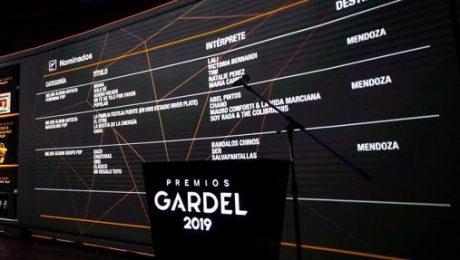 Premios Gardel (Prensa Argañaraz - Arce - 2019 A000)