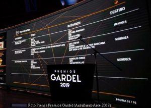 Premios Gardel (Prensa Argañaraz - Arce - 2019 A005)