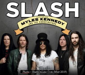 Slash - Tour 2019 (Photo by SlashOnLine.Com AA0003)