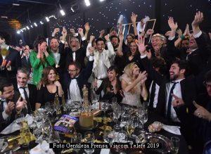 Premios Martìn Fierro 2019 (Prensa Viacom Telefè 010)