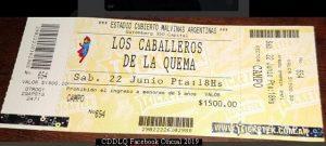 Caballeros de La Quema (Facebook Oficial 2019 - A002)