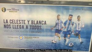 Copa Amèrica (Foto Difusiòn TV Pùblica - Junio 2019 - A002)