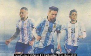 Copa Amèrica (Foto Difusiòn TV Pùblica - Junio 2019 - A003)