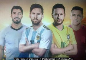 Copa Amèrica (Foto Difusiòn TV Pùblica - Junio 2019 - A004)