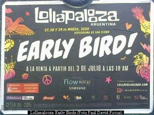 Lollapalooza Early Birds (foto Paul David Focus A01)
