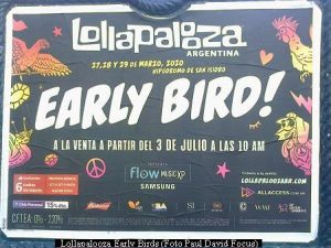 Lollapalooza Early Birds (foto Paul David Focus A02)