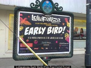 Lollapalooza Early Birds (foto Paul David Focus A03)
