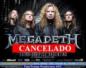 Megadeth (Foto Prensa Productora AVC A001)